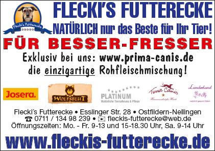 Fleckis Futterecke